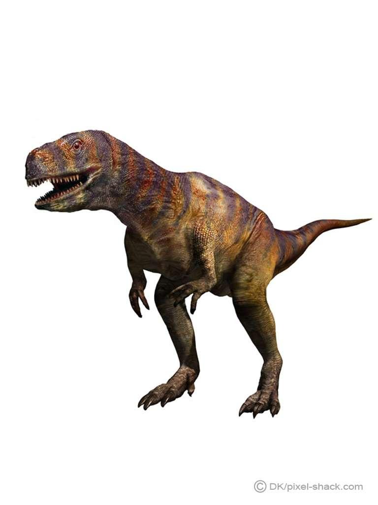 L'abelisaure, ou Abelisaurus, un carnivore bipède