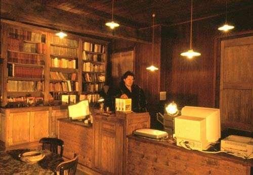 L'atelier d'informatique éditoriale © Photo Dominique Felga