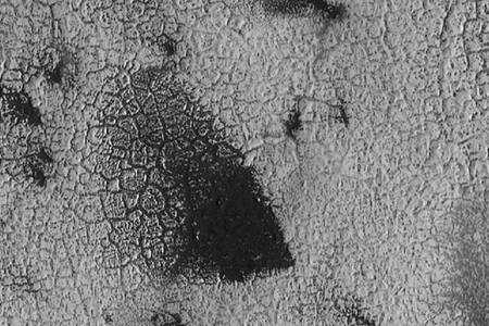 Cette région de Mars ne rappelle-t-elle pas la peau d'un lézard ? Crédit : Nasa/JPL/University of Arizona