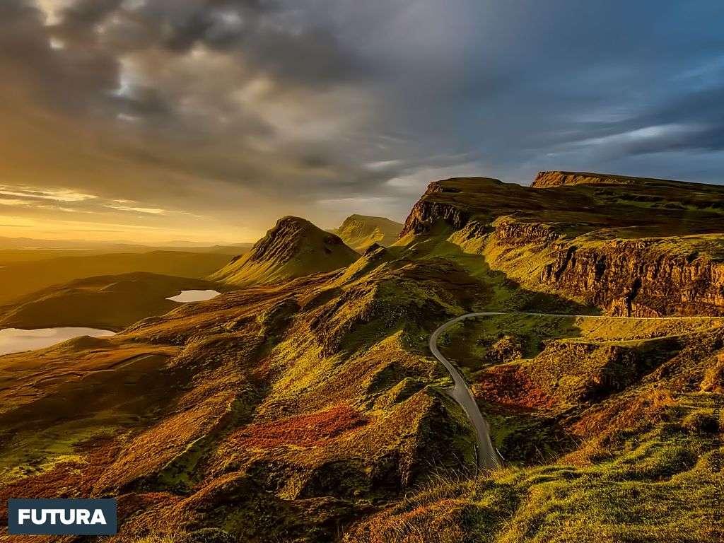 Paysage envoûtant des Highlands en Écosse