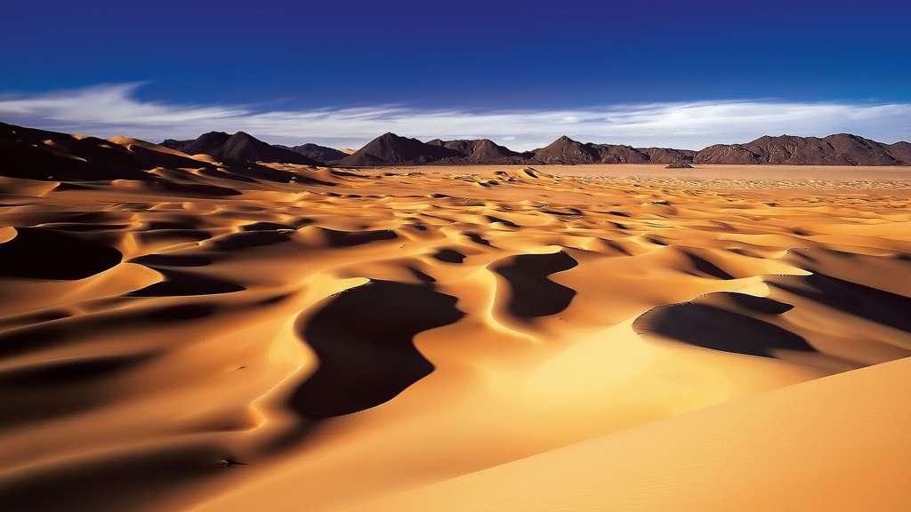 Niger, les dunes nigériennes du Sahara