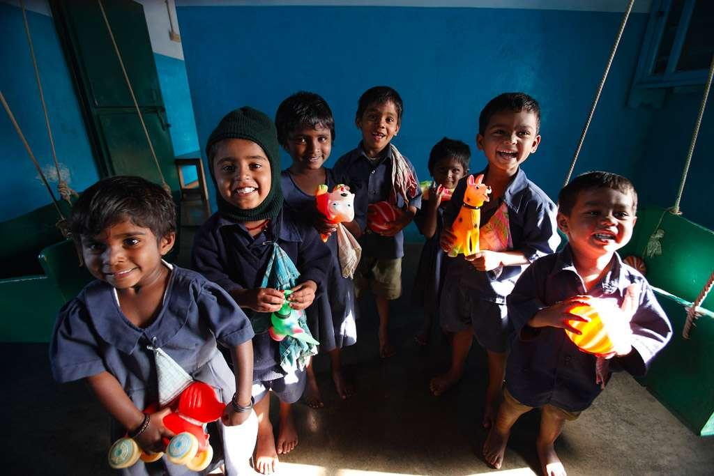 École pour les familles des cueilleurs de thé