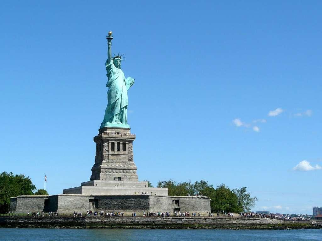 La statue de la Liberté est un don réalisé par la France. Il en existe diverses copies dans le monde. Pour beaucoup, elle est le symbole du rêve américain. © Benjamin Dumas, Flickr, CC by-nc-sa 2.0
