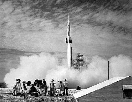 Premier lancement de Bumper à Cap Canaveral. Crédit Nasa