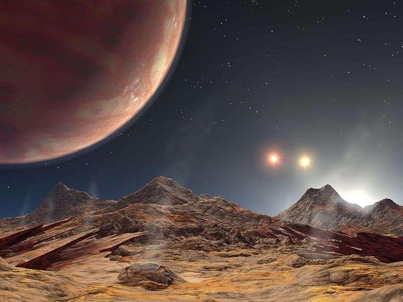Trois étoiles pour une seule exoplanète, HD 188753 Ab