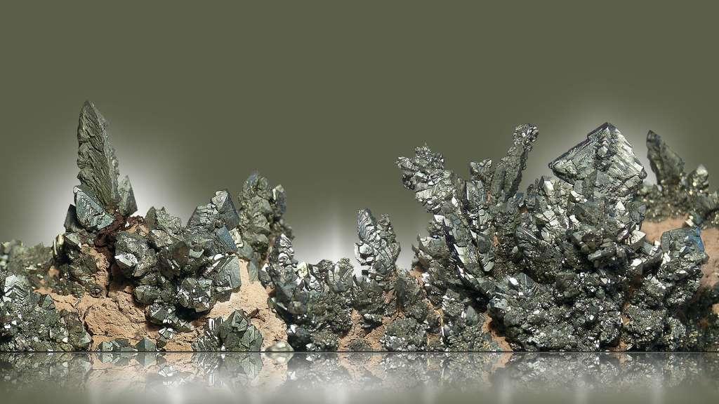 La marcassite, une cousine de la pyrite