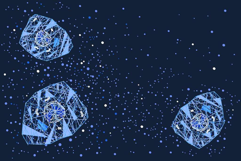 Les cytokines sont des molécules inflammatoires relâchées par les cellules immunitaires. © greenvector, Adobe Stock