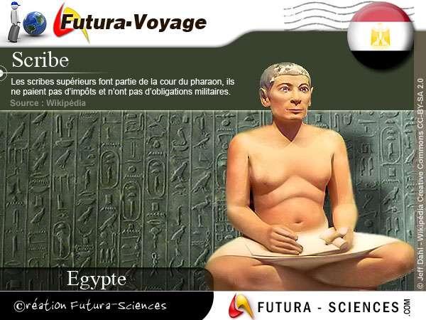 Scribe du pharaon - Egypte