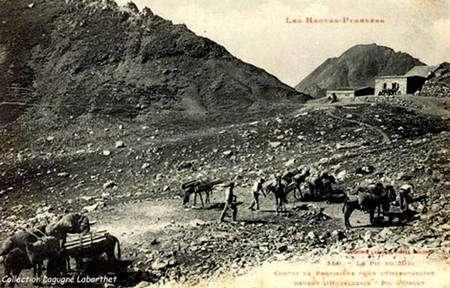 Col du Tourmalet, une image inhabituelle !