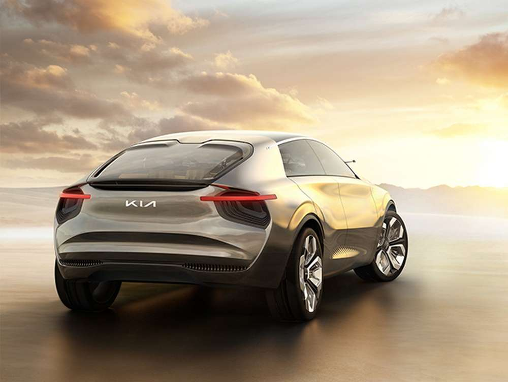 Kia's electric crossover is expected to hit the market next year.  © Kia