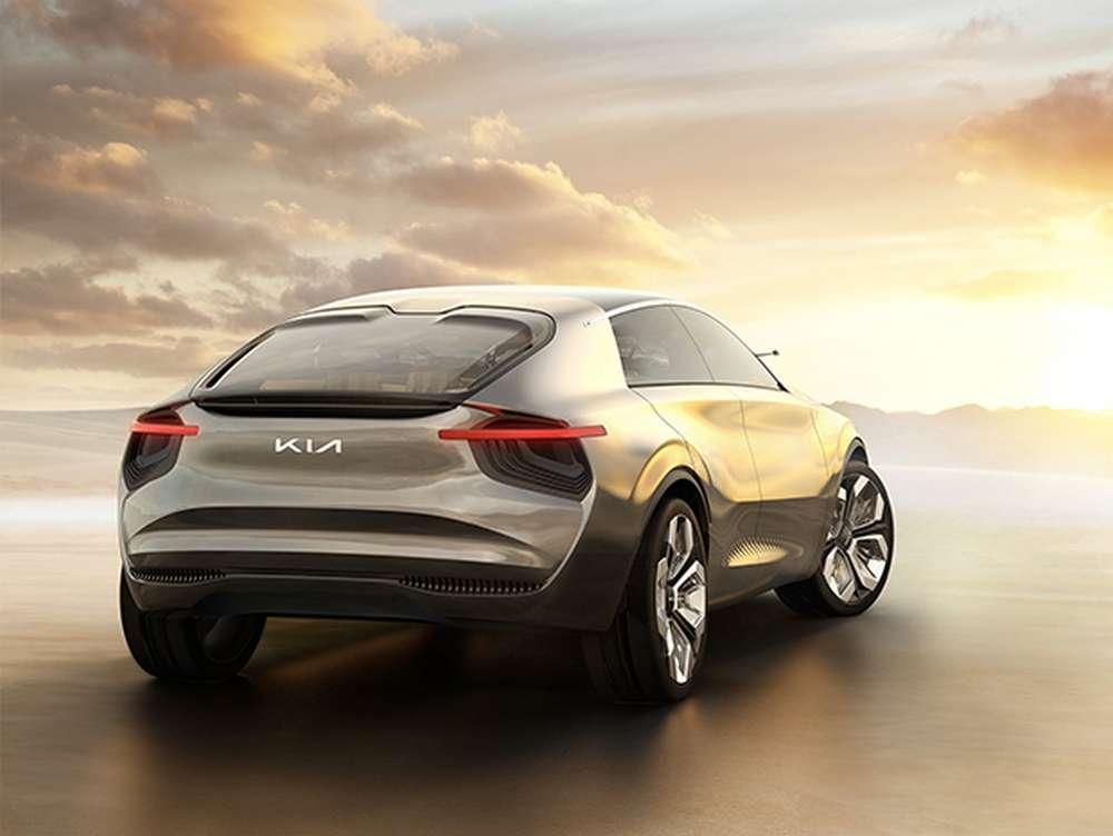 Le crossover électrique de Kia devrait arriver sur le marché l'année prochaine. © Kia