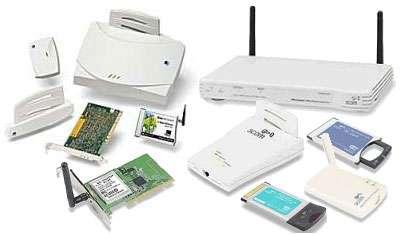Quelques périphériques tirant profit de la technologie Wi-Fi