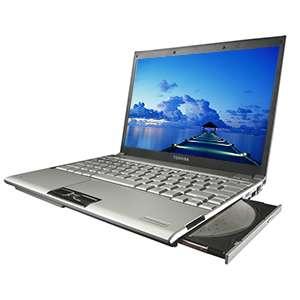Ultraplat, 1 Go de mémoire, Windows Vista, connexion Wi-fi et un tout petit kilo sur la balance : le futur Portégé R500 est taillé pour le travail en voyage. Crédit : Toshiba