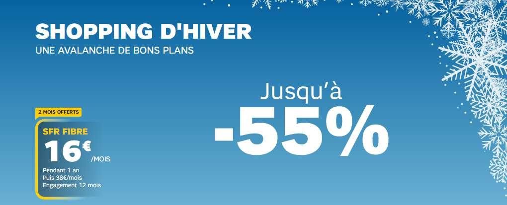 -55% sur la fibre optique © SFR