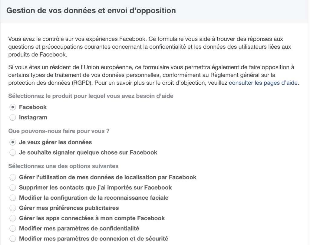 Les internautes européens peuvent s'opposer au traitement des données personnelles effectué par Facebook. © Futura