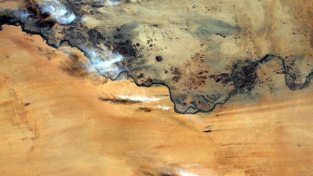 Le Soudan vu de l'espace
