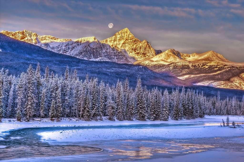 Le lac Athabasca