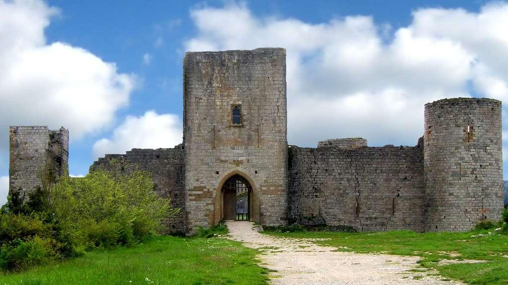 Le château de Puivert, une forteresse bien conservée