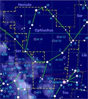 Constellation du Serpent.