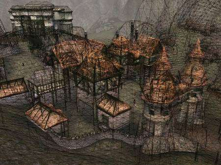 Un jeu comme Morrowind, entièrement créé à la main, a exigé pas moins de trois ans de travail. © DR
