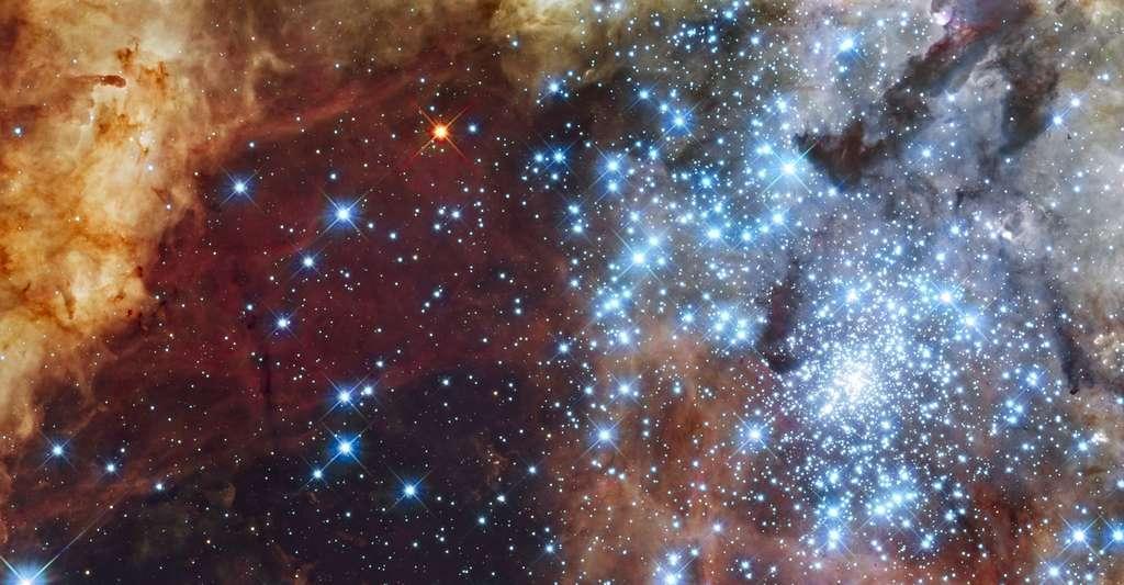 Vue d'un amas d'étoiles. © Nasa/ESA, domaine public