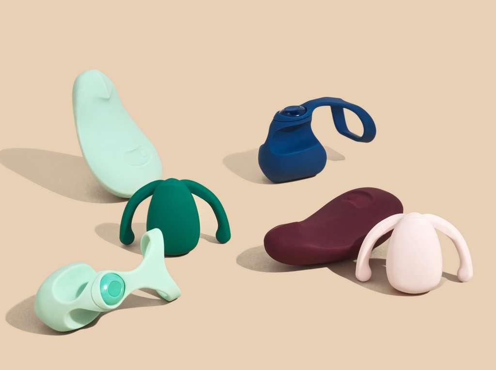 Les sextoys féminins de Dame Products. © Dame Products