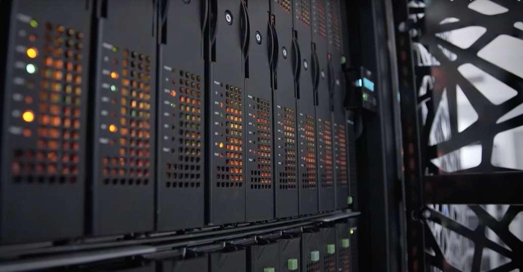 Sans supercalculateur, les prévisions météo seraient impossibles. © Capture d'écran YouTube, Atos, Météo France