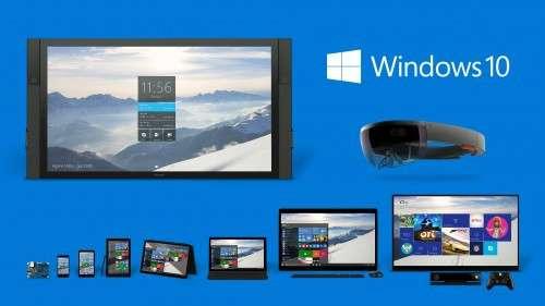 Que ce soit sur un ordinateur de bureau, un PC portable, une tablette ou un smartphone, Microsoft a conçu Windows 10 pour qu'il offre une interface à la fois adaptée à chaque appareil mais dont l'ergonomie reste identique. © Microsoft