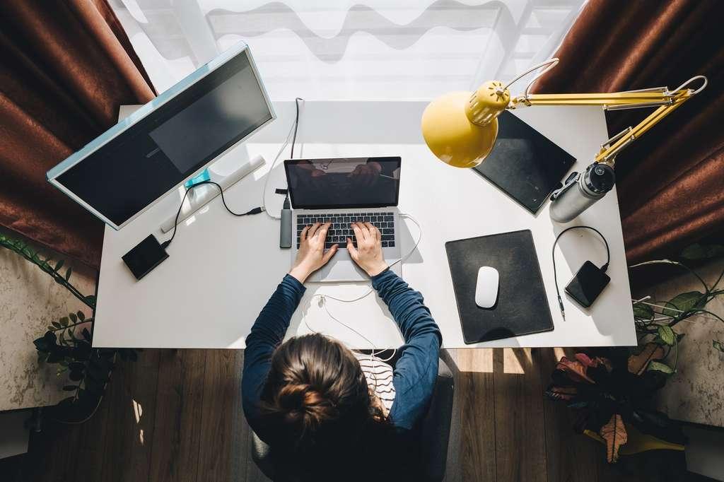 Le télétravail est encadré par la loi qui fixe des obligations à respecter pour les employeurs et des droits pour les salariés concernés. © phpetrunina14, Adobe Stock.