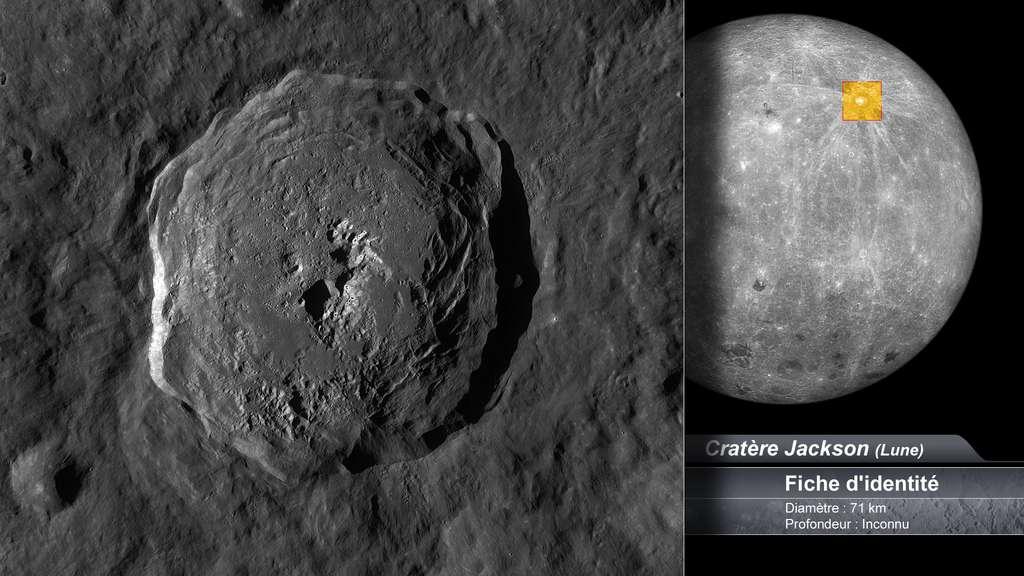 Le cratère Jackson sur la face cachée de la Lune