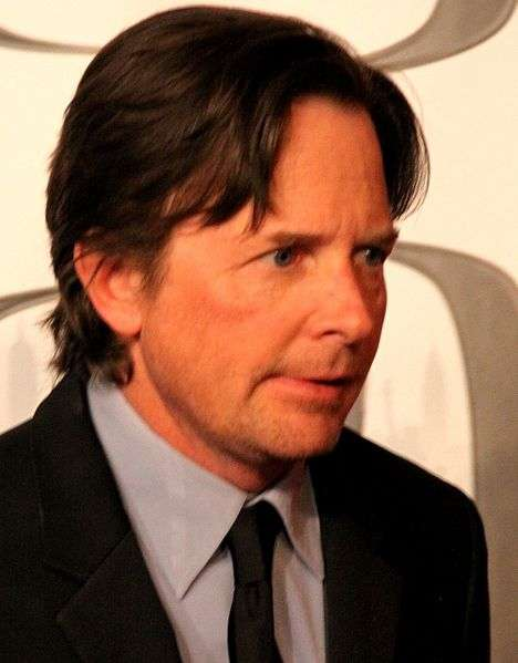 L'acteur canadien Michael J. Fox est atteint de la maladie de Parkinson. Sa fondation a participé au développement du vaccin PD01A par un versement de 1,5 million de dollars américains (1,2 million d'euros). © Thomas Atilla Lewis, Wikipédia, cc by 2.0