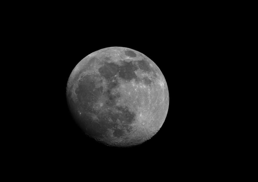 Recadrage de la Lune