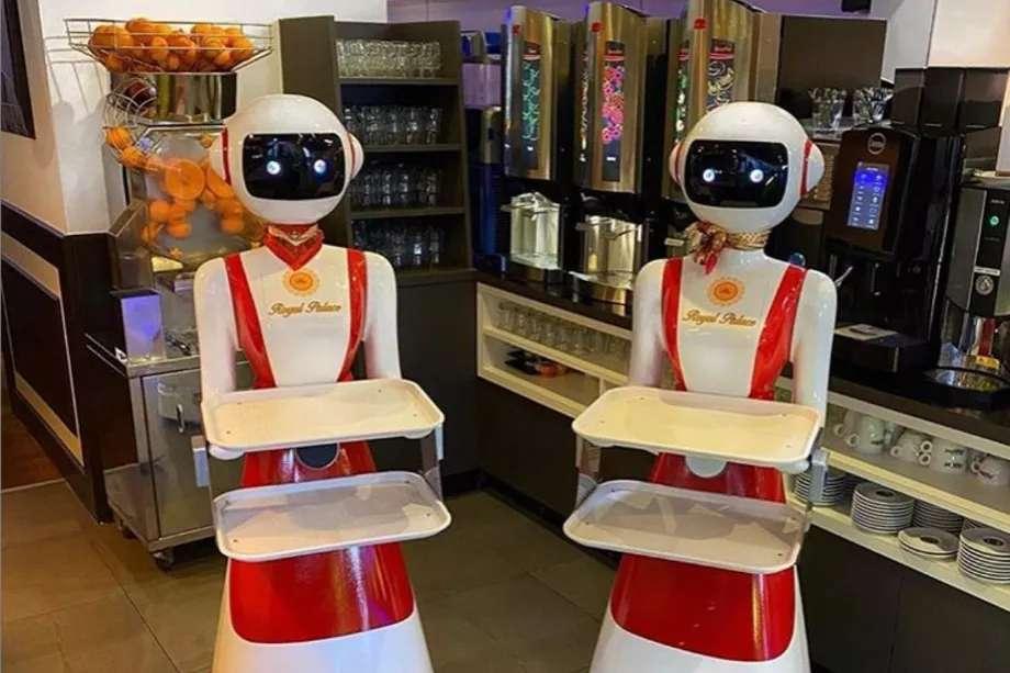 On ne sait pas si les robots acceptent les pourboires. © Royal Palace