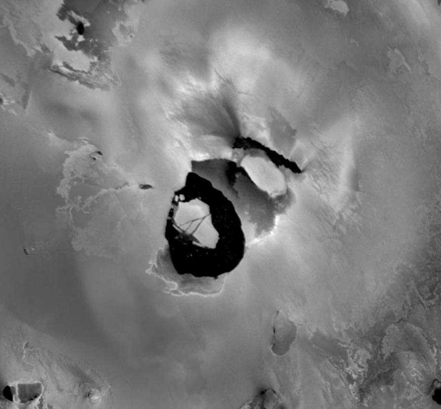 Une photo de Loki Patera prise le 27 juin 1996 par la sonde Galileo. © Nasa