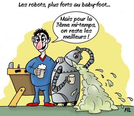 Robotique : un joueur de baby-foot automatisé lauréat d'un prix européen
