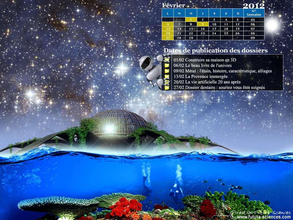 Calendrier : Février 2012
