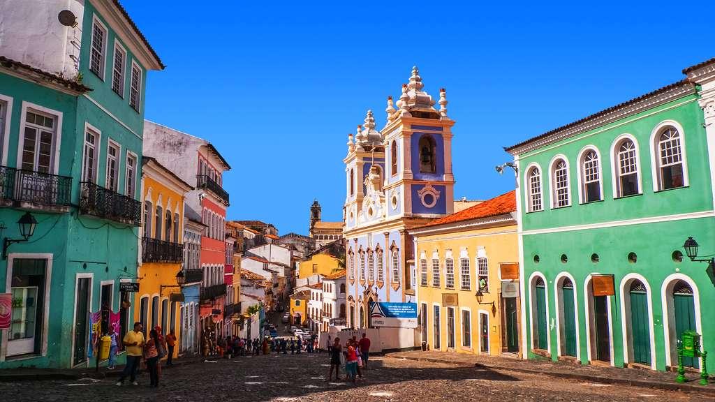Le centre historique de Salvador de Bahia
