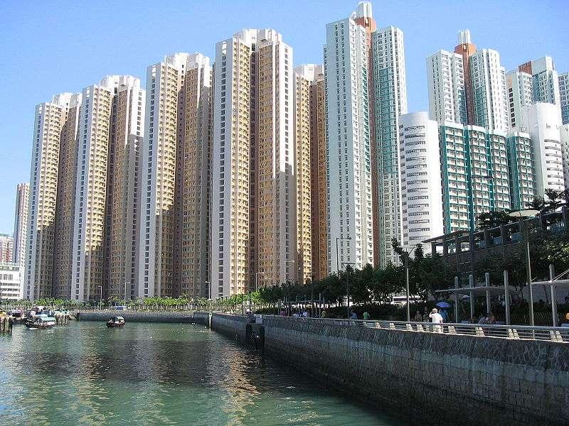 immeubles à Aldrich Bay