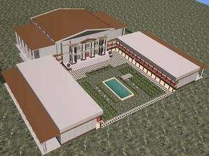 Reconstitution de la bibliothèque d'Alexandrie à l'époque d'Eratosthène. Crédits : UNESCO