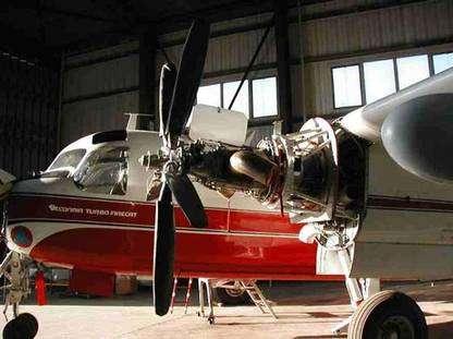 Les 2 turbines Pratt & Whitney de 2.424 chevaux. © Tracker-France - Tous droits de reproduction interdits