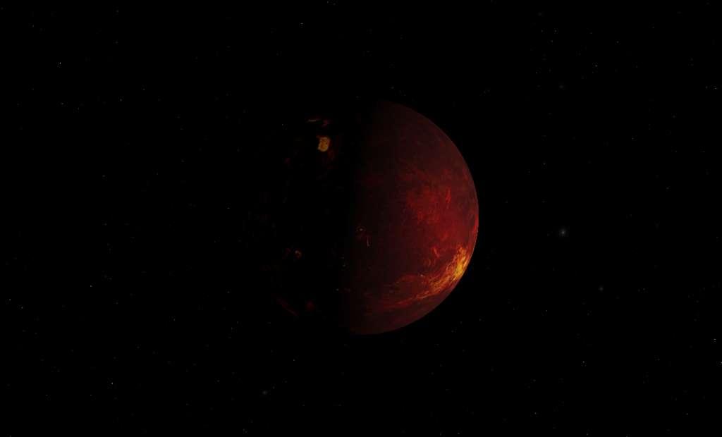 L'effet de serre sur Vénus est en majorité lié au CO2. © Chris Laurel, DP