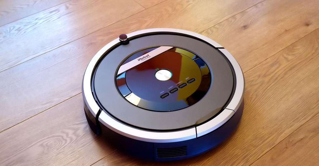 L'aspirateur robot iRobot Roomba 870. © Karlis Dambrans, Wikimedia commons, CC by 2.0