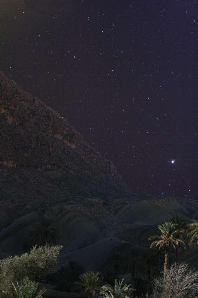 Ciel étoilé aux portes du desert d'El Kantara