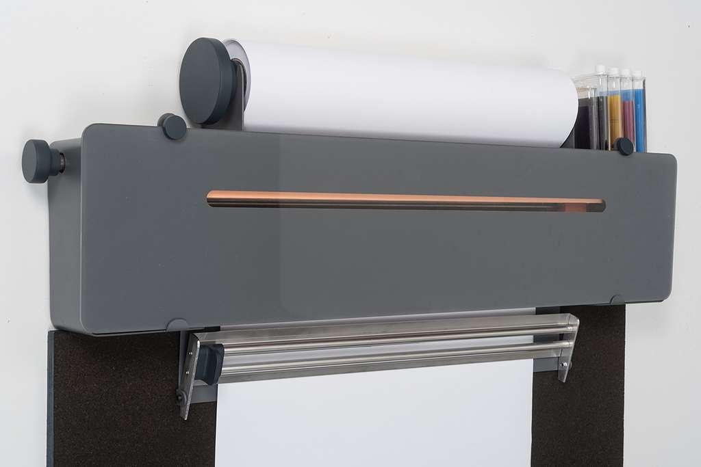 L'imprimante à jet d'encre conçue par Paul Morin est réparable à l'infini. © Paul Morin