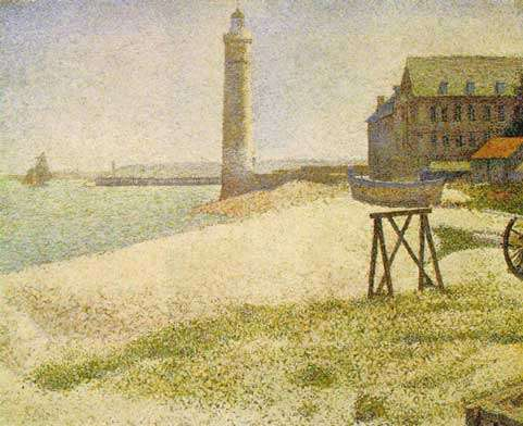 Seurat, lumière à Honfleur, 1886