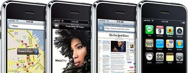 Star des smartphones, l'iPhone sort en 2007. © Apple