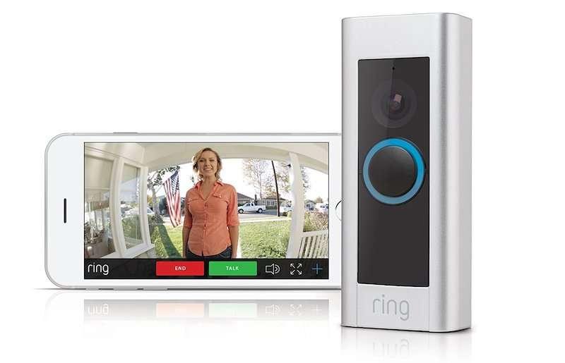 Parmi les objets connectés compatibles avec les services Orange, une sonnette connectée © Ring