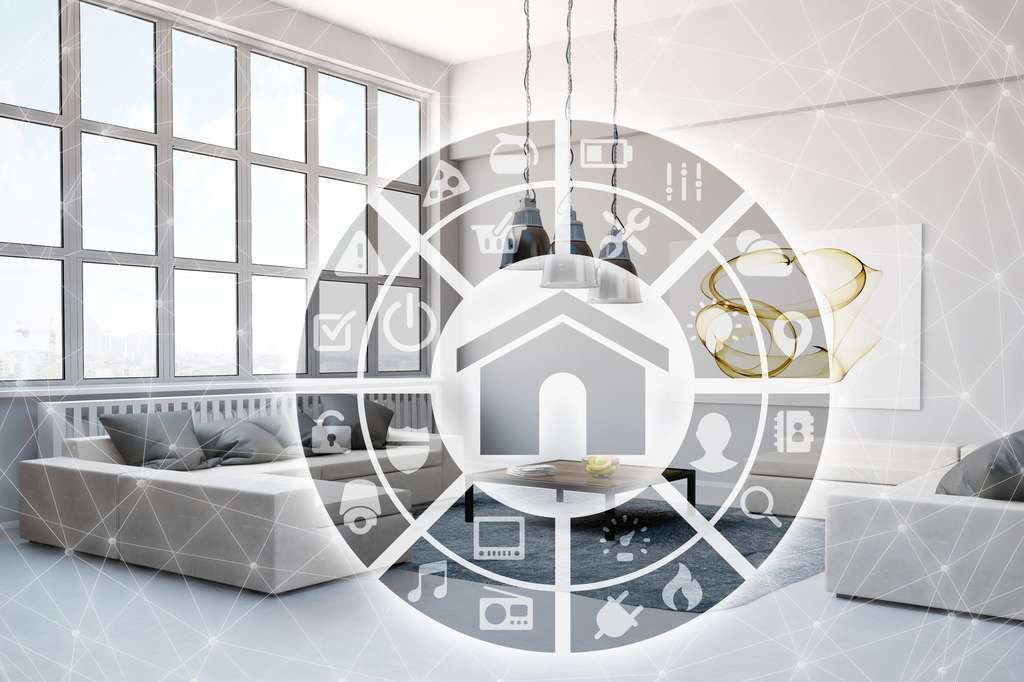 La Smart Home, pour des appartements de plus en plus intelligents. © Fotolia