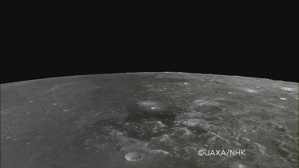 Le site d'atterrissage d'Apollo 17 vu par Kaguya