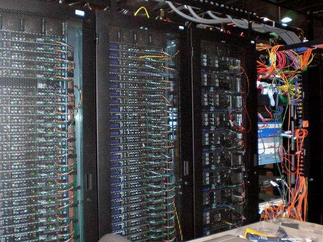 Le traitement massif des données nécessite une capacité de stockage impressionnante comme celle des data centers. © Sean Ellis, Flickr CC by-2.0